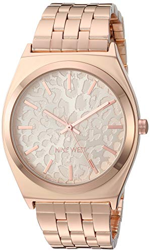 ナインウェスト 腕時計 レディース 【送料無料】Nine West Women's Rose Gold-Tone Bracelet Watch, NW/2404RGRGナインウェスト 腕時計 レディース