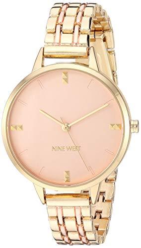 ナインウェスト 腕時計 レディース 【送料無料】Nine West Women's Two-Tone Bracelet Watch, NW/2338GPRTナインウェスト 腕時計 レディース