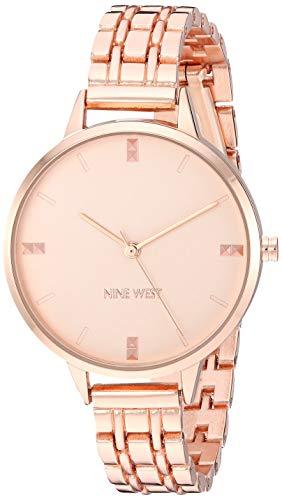 ナインウェスト 腕時計 レディース 【送料無料】Nine West Women's Rose Gold-Tone Bracelet Watch, NW/2338RGRGナインウェスト 腕時計 レディース