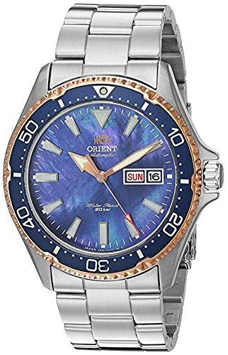 腕時計 オリエント メンズ 【送料無料】Orient Men's Kamasu LE Japanese Automatic Diving Watch with Stainless-Steel Strap, Silver, 22 (Model: RA-AA0007A09A)腕時計 オリエント メンズ