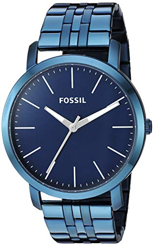 フォッシル 腕時計 メンズ 【送料無料】Fossil Men's Luther Stainless-Steel Strap Quartz Watch, Color:Smoke, 22 (Model: BQ2313)フォッシル 腕時計 メンズ