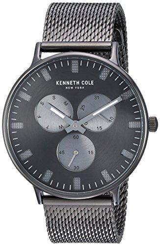 ケネスコール・ニューヨーク Kenneth Cole New York 腕時計 メンズ 【送料無料】Kenneth Cole New York Men's Sport' Quartz Stainless Steel Dress Watch, Color:Grey (Model: KC14946015)ケネスコール・ニューヨーク Kenneth Cole New York 腕時計 メンズ
