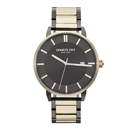 ケネスコール・ニューヨーク Kenneth Cole New York 腕時計 メンズ 【送料無料】Kenneth Cole New York Men's CLASSIC Japanese-Quartz Stainless-Steel Strap, Two Tone, 20 Casual Watch (Modeケネスコール・ニューヨーク Kenneth Cole New York 腕時計 メンズ