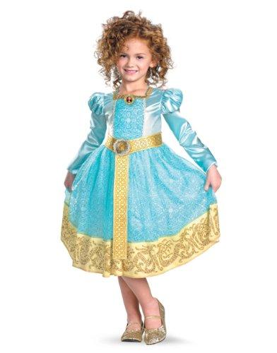 メリダとおそろしの森 メリダ ブレイブ ディズニープリンセス 【送料無料】Disney Pixar's Deluxe Brave Girls Merida Costumeメリダとおそろしの森 メリダ ブレイブ ディズニープリンセス