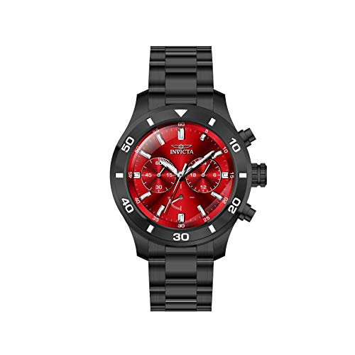 インヴィクタ インビクタ 腕時計 メンズ 【送料無料】Invicta Specialty Chronograph Quartz Red Dial Men's Watch 28891インヴィクタ インビクタ 腕時計 メンズ