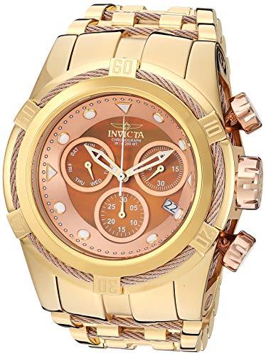 インヴィクタ インビクタ 腕時計 メンズ 【送料無料】Invicta Men's Bolt Quartz Watch with Stainless Steel Strap, Gold, 35 (Model: 29740)インヴィクタ インビクタ 腕時計 メンズ