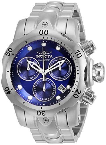 インヴィクタ インビクタ 腕時計 メンズ 【送料無料】Invicta Men's Venom Quartz Watch with Stainless Steel Strap, Silver, 22 (Model: 29626)インヴィクタ インビクタ 腕時計 メンズ
