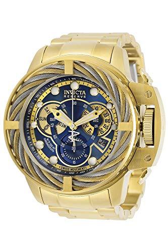 """インヴィクタ インビクタ 腕時計 メンズ 【送料無料】Invicta Men""""s Reserve Quartz Watch with Stainless Steel Strap, Gold, 26 (Model: 30128)インヴィクタ インビクタ 腕時計 メンズ"""