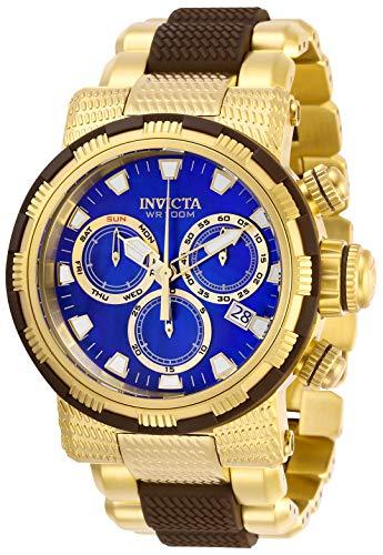 インヴィクタ インビクタ 腕時計 メンズ 【送料無料】Invicta Men's Specialty Stainless Steel Quartz Watch with Polyurethane Strap, Gold, 30 (Model: 28802)インヴィクタ インビクタ 腕時計 メンズ