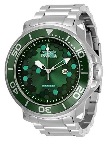 インヴィクタ インビクタ 腕時計 メンズ 【送料無料】Invicta Men's Pro Diver Quartz Watch with Stainless Steel Strap, Silver, 26 (Model: 30562)インヴィクタ インビクタ 腕時計 メンズ