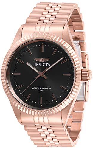 腕時計 インヴィクタ インビクタ メンズ 【送料無料】Invicta Men's Specialty Quartz Watch with Stainless Steel Strap, Rose Gold, 22 (Model: 29389)腕時計 インヴィクタ インビクタ メンズ