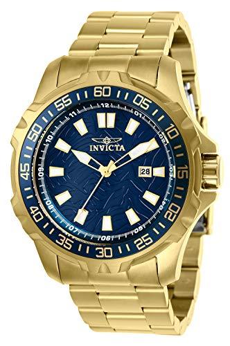 インヴィクタ インビクタ 腕時計 メンズ 【送料無料】Invicta Men's Pro Diver Quartz Watch with Stainless Steel Strap, Gold, 24 (Model: 25793)インヴィクタ インビクタ 腕時計 メンズ