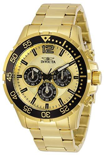 インヴィクタ インビクタ 腕時計 メンズ 【送料無料】Invicta Men's Specialty Quartz Watch with Stainless Steel Strap, Gold, 21 (Model: 25754)インヴィクタ インビクタ 腕時計 メンズ