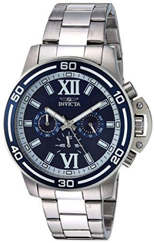 インヴィクタ インビクタ 腕時計 メンズ 【送料無料】Invicta Men's 15057 Specialty Analog Display Japanese Quartz Silver Watchインヴィクタ インビクタ 腕時計 メンズ