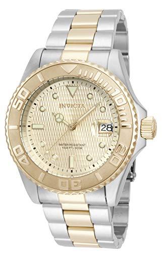 腕時計 インヴィクタ インビクタ メンズ 【送料無料】Invicta Men's 14343 Pro Diver Analog Display Two Tone Watch腕時計 インヴィクタ インビクタ メンズ