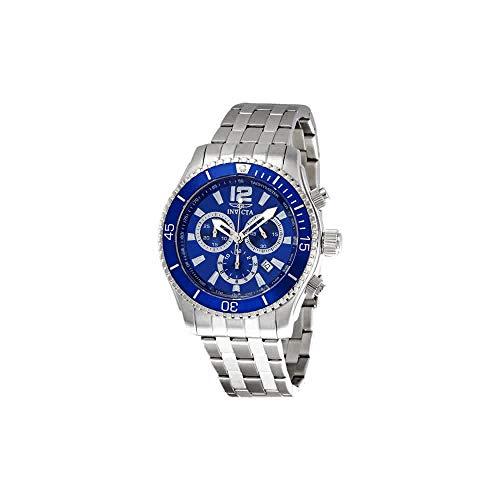 腕時計 インヴィクタ インビクタ メンズ 【送料無料】Invicta Men's 0620 Specialty Quartz Chronograph Blue Dial Watch腕時計 インヴィクタ インビクタ メンズ