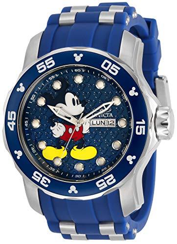 インヴィクタ インビクタ 腕時計 メンズ 【送料無料】Invicta Disney Limited Edition Men 48mm Stainless Steel Blue dial Quartz, 30767インヴィクタ インビクタ 腕時計 メンズ