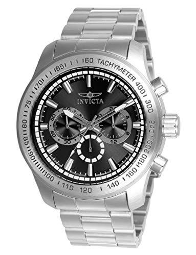 インヴィクタ インビクタ 腕時計 メンズ 【送料無料】Invicta Men's 21793 Speedway Quartz Chronograph Black Dial Watchインヴィクタ インビクタ 腕時計 メンズ
