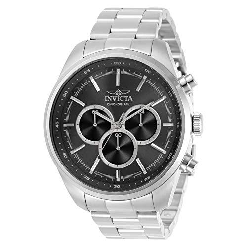 インヴィクタ インビクタ 腕時計 メンズ 【送料無料】Invicta Specialty Chronograph Quartz Black Dial Men's Watch 30977インヴィクタ インビクタ 腕時計 メンズ