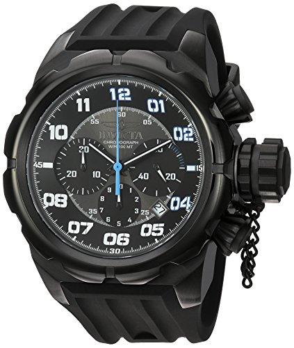 インヴィクタ インビクタ 腕時計 メンズ 【送料無料】Invicta Men's Russian Diver Stainless Steel Quartz Watch with Silicone Strap, Black, 30 (Model: 22420)インヴィクタ インビクタ 腕時計 メンズ