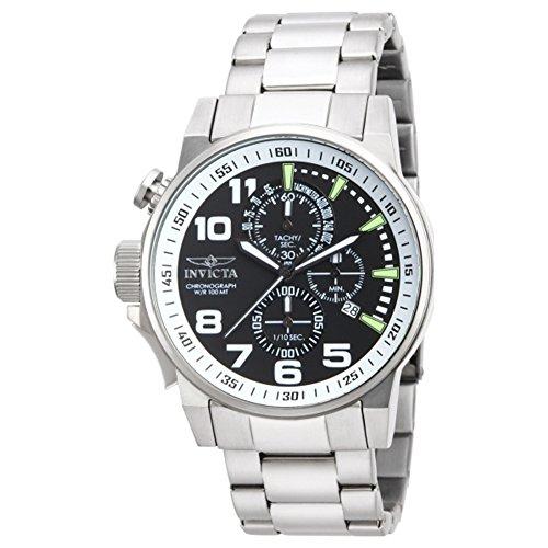 インヴィクタ インビクタ 腕時計 メンズ 【送料無料】Invicta 14955 Men's I-Force Chronograph Black Dial Stainless Steelインヴィクタ インビクタ 腕時計 メンズ