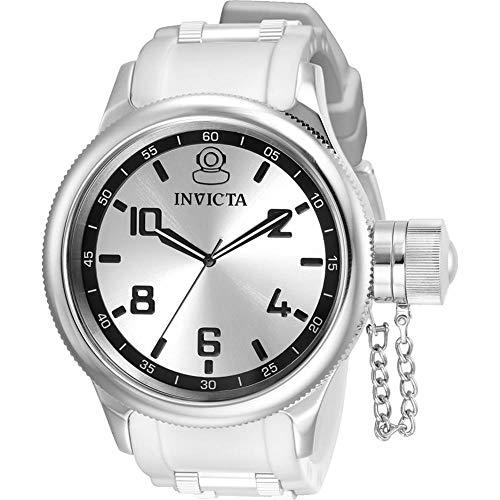 インヴィクタ インビクタ 腕時計 メンズ 【送料無料】Invicta Russian Diver Quartz Silver Dial Men's Watch 31214インヴィクタ インビクタ 腕時計 メンズ