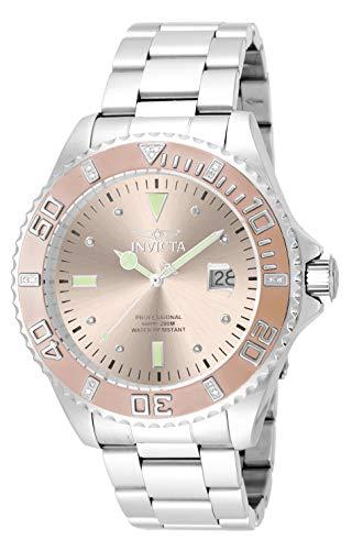 インヴィクタ インビクタ 腕時計 メンズ 【送料無料】Invicta Men's Pro Diver Quartz Watch with Stainless Steel Strap, Silver, 22 (Model: 17309)インヴィクタ インビクタ 腕時計 メンズ