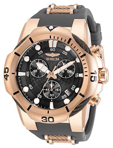 インヴィクタ インビクタ 腕時計 メンズ 【送料無料】Invicta Men's Bolt Quartz Watch with Stainless Steel and Silicone Strap, Rose Gold and Black, 30 (Model: 31958)インヴィクタ インビクタ 腕時計 メンズ