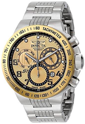 腕時計 インヴィクタ インビクタ メンズ 【送料無料】Invicta Invicta Men's 15446 S1 Rally Quartz Chronograph Gold Dial Watch腕時計 インヴィクタ インビクタ メンズ