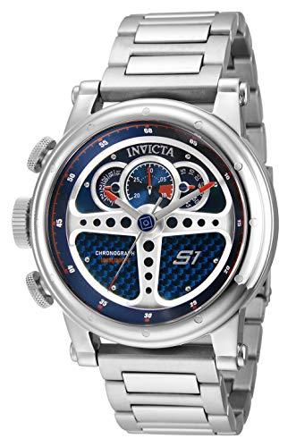 インヴィクタ インビクタ 腕時計 メンズ 【送料無料】Invicta Men's S1 Rally Quartz Watch with Stainless Steel Strap, Silver, 24 (Model: 30576)インヴィクタ インビクタ 腕時計 メンズ