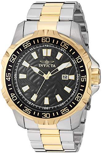 インヴィクタ インビクタ 腕時計 メンズ 【送料無料】Invicta Men's Pro Diver Quartz Watch with Stainless-Steel Strap, Two Tone, 24 (Model: 25795)インヴィクタ インビクタ 腕時計 メンズ