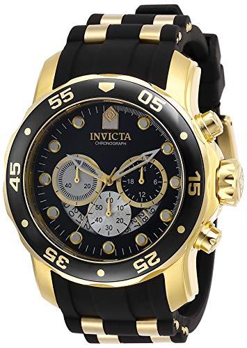 インヴィクタ インビクタ 腕時計 メンズ 【送料無料】Invicta Men's Pro Diver Stainless Steel Quartz Watch with Silicone Strap, Black, 26 (Model: 28722)インヴィクタ インビクタ 腕時計 メンズ
