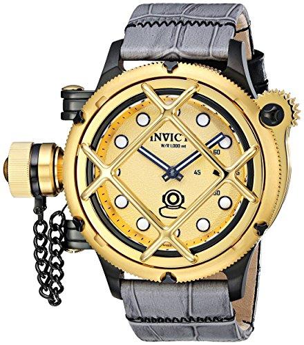 インヴィクタ インビクタ 腕時計 メンズ 【送料無料】Invicta Men's 16358 Russian Diver Analog Display Mechanical Hand Wind Two Tone Watchインヴィクタ インビクタ 腕時計 メンズ