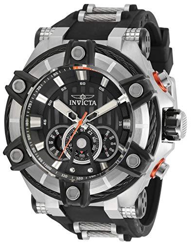 インヴィクタ インビクタ 腕時計 メンズ 【送料無料】Invicta Men's Analogue Quartz Watch with Silicone Strap 30045インヴィクタ インビクタ 腕時計 メンズ