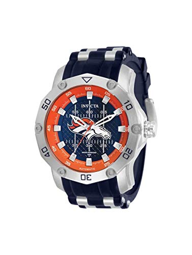 インヴィクタ インビクタ 腕時計 メンズ 【送料無料】Invicta NFL Denver Broncos Automatic Blue Dial Men's Watch 32017インヴィクタ インビクタ 腕時計 メンズ