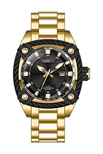 インヴィクタ インビクタ 腕時計 メンズ 【送料無料】Invicta Men's Bolt Quartz Watch with Stainless Steel Strap, Gold, 24 (Model: 31351)インヴィクタ インビクタ 腕時計 メンズ