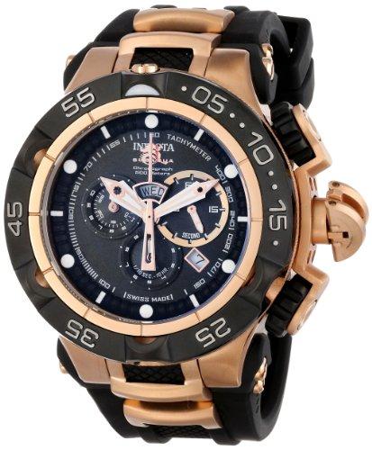インヴィクタ インビクタ 腕時計 メンズ 【送料無料】Invicta Men's INVICTA-12888 Subaqua Analog Display Swiss Quartz Black Watchインヴィクタ インビクタ 腕時計 メンズ