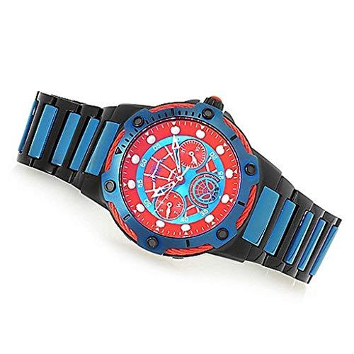 インヴィクタ インビクタ 腕時計 メンズ 【送料無料】Invicta Marvel 39mm Bolt Spiderman Limited Edition Quartz Multi Function Stainless Steel Bracelet Watchインヴィクタ インビクタ 腕時計 メンズ