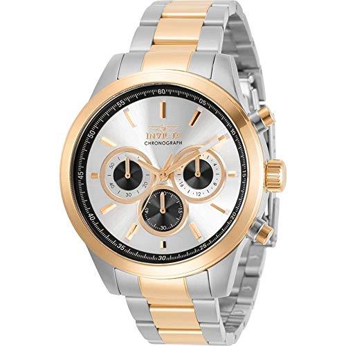 腕時計 インヴィクタ インビクタ メンズ 【送料無料】Invicta Specialty Chronograph Quartz Silver Dial Men's Watch 30983腕時計 インヴィクタ インビクタ メンズ