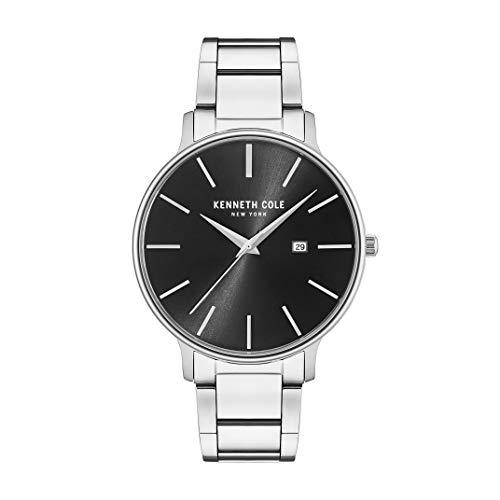 ケネスコール・ニューヨーク Kenneth Cole New York 腕時計 メンズ 【送料無料】Kenneth Cole New York Men's 'Classic' Quartz Stainless Steel Dress Watch, Color:Silver-Toned (Model: KC150ケネスコール・ニューヨーク Kenneth Cole New York 腕時計 メンズ