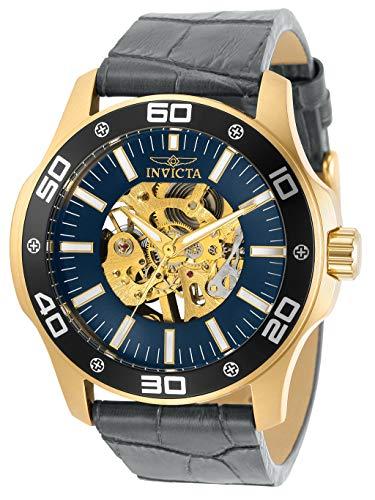 腕時計 インヴィクタ インビクタ メンズ 【送料無料】Invicta Specialty Men 45mm Stainless Steel Gold Gold dial Mechanical, 30772腕時計 インヴィクタ インビクタ メンズ