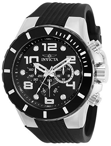 インヴィクタ インビクタ 腕時計 メンズ 【送料無料】Invicta Pro Diver Men 50mm Stainless Steel Stainless Steel Black dial Quartz, 30776インヴィクタ インビクタ 腕時計 メンズ