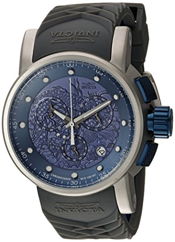 """インヴィクタ インビクタ 腕時計 メンズ 【送料無料】Invicta Men""""s S1 Rally Stainless Steel Quartz Watch with Silicone Strap, Grey, 24 (Model: 21626)インヴィクタ インビクタ 腕時計 メンズ"""