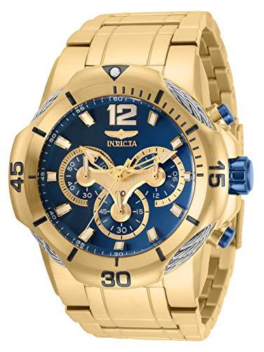 インヴィクタ インビクタ 腕時計 メンズ 【送料無料】Invicta Men's Bolt Quartz Watch with Stainless Steel Strap, Gold, 30 (Model: 31165)インヴィクタ インビクタ 腕時計 メンズ