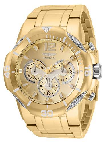 インヴィクタ インビクタ 腕時計 メンズ 【送料無料】Invicta Men's Bolt Quartz Watch with Stainless Steel Strap, Gold, 30 (Model: 31164)インヴィクタ インビクタ 腕時計 メンズ