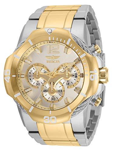 インヴィクタ インビクタ 腕時計 メンズ 【送料無料】Invicta Men's Bolt Quartz Watch with Stainless Steel Strap, Silver, Gold, 30 (Model: 31163)インヴィクタ インビクタ 腕時計 メンズ