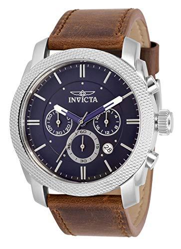 インヴィクタ インビクタ 腕時計 メンズ 【送料無料】INVICTA Aviator Men 44mm Stainless Steel Blue dial Quartzインヴィクタ インビクタ 腕時計 メンズ