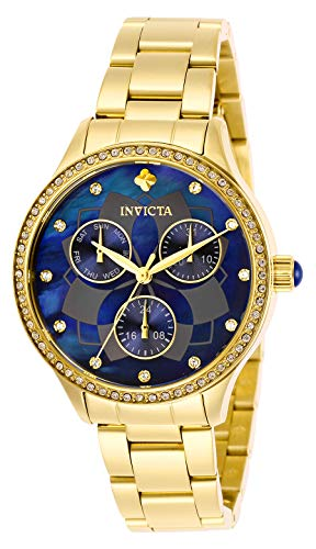 インヴィクタ インビクタ 腕時計 レディース 【送料無料】Invicta Women's Wildflower Quartz Watch with Stainless Steel Strap, Gold, 22 (Model: 29095)インヴィクタ インビクタ 腕時計 レディース