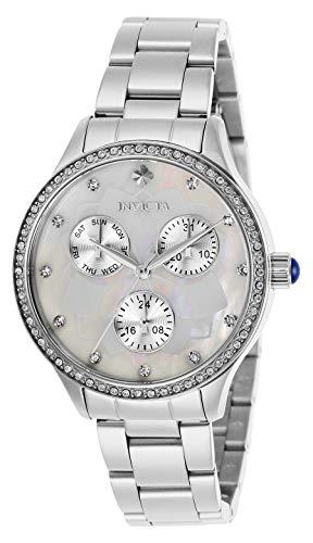 インヴィクタ インビクタ 腕時計 レディース 【送料無料】Invicta Women's Wildflower Quartz Watch with Stainless Steel Strap, Silver, 16 (Model: 29090)インヴィクタ インビクタ 腕時計 レディース