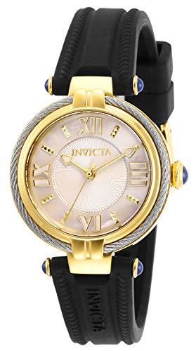 インヴィクタ インビクタ 腕時計 レディース 【送料無料】Invicta Women's Bolt Stainless Steel Quartz Watch with Silicone Strap, Black, 16 (Model: 29123)インヴィクタ インビクタ 腕時計 レディース